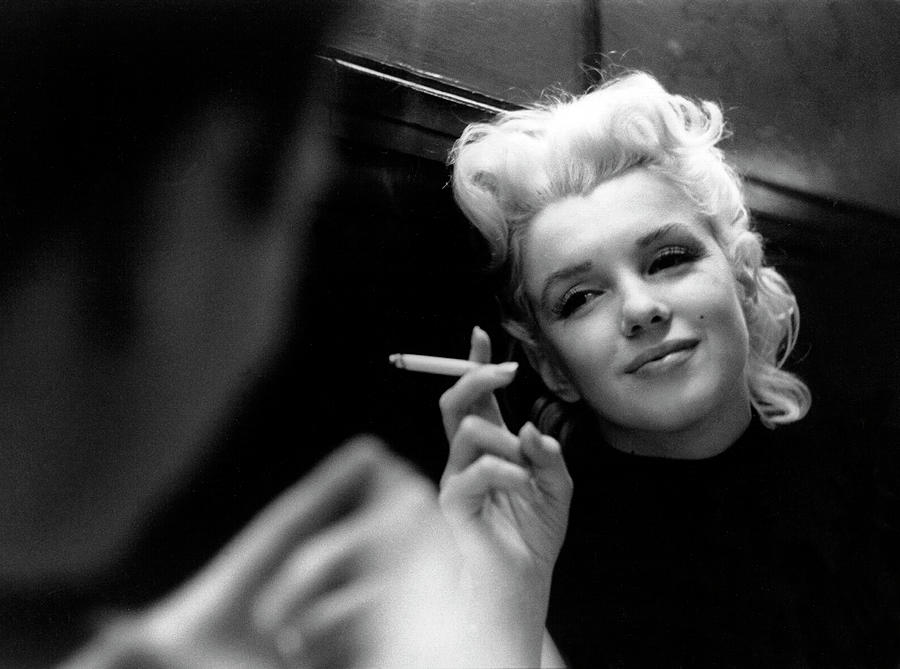 Marilyn Candid Moment Photograph by Michael Ochs Archives