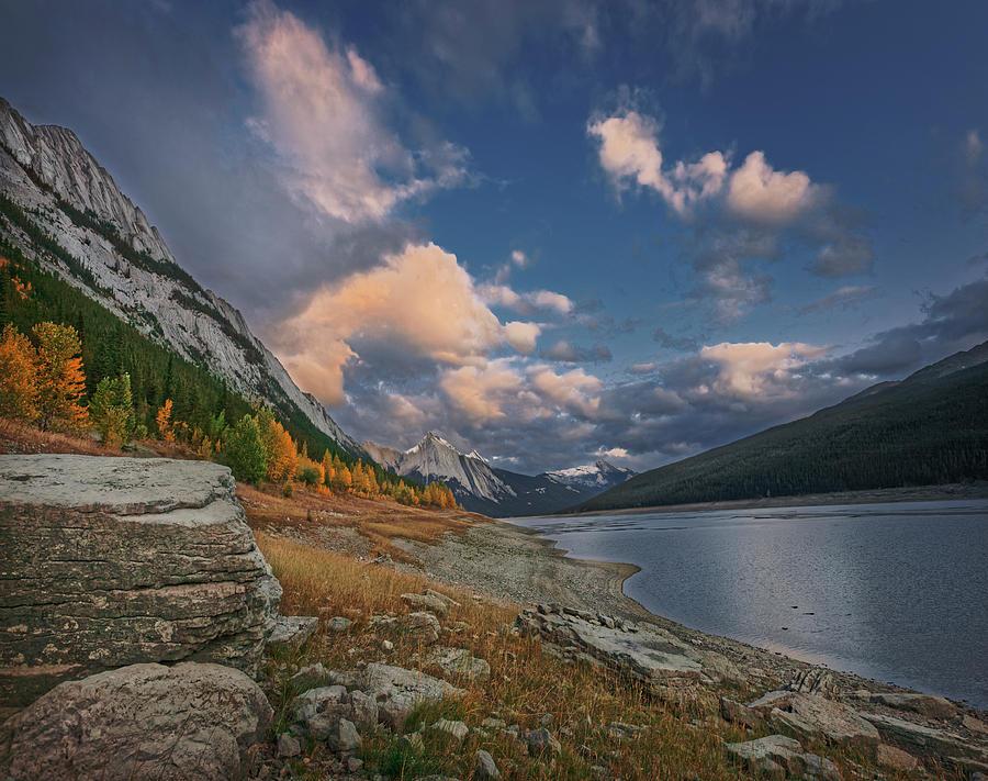 Medicine Lake, Jasper by Dan Jurak