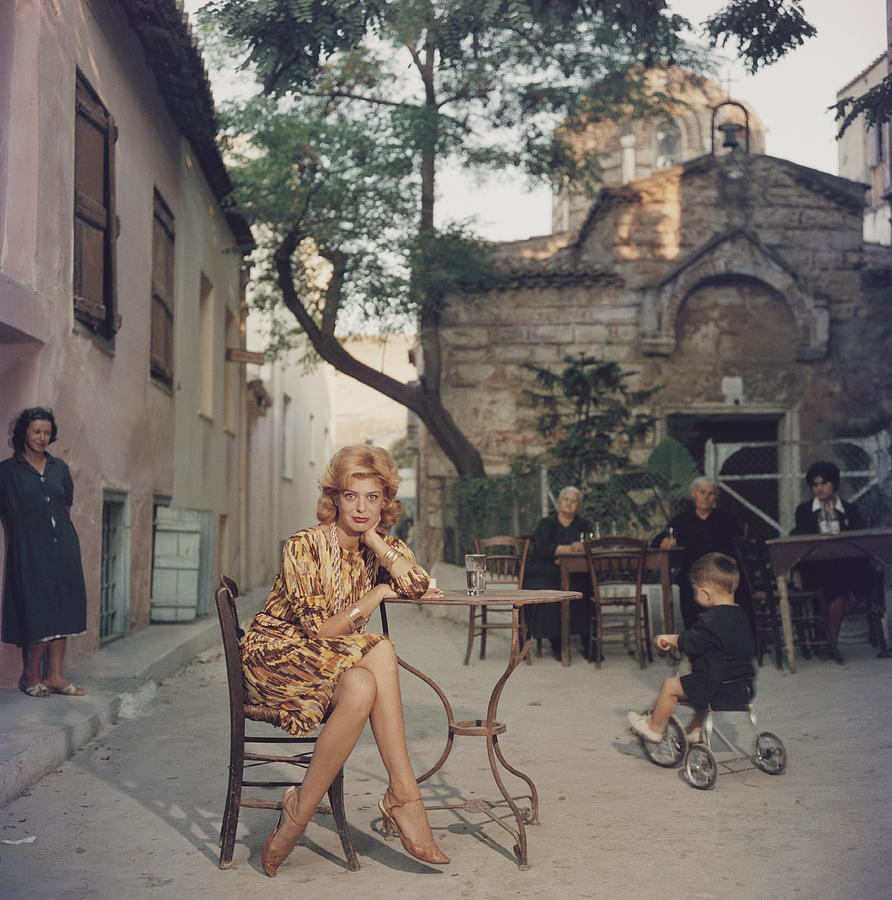 Melina Mercouri Photograph by Slim Aarons
