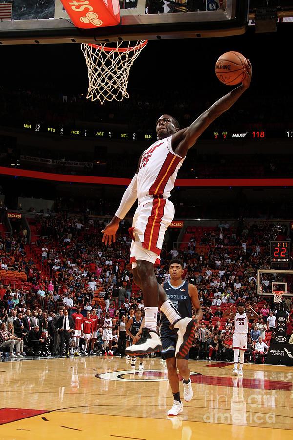 Memphis Grizzlies V Miami Heat Photograph by Oscar Baldizon