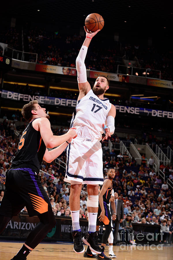 Memphis Grizzlies V Phoenix Suns Photograph by Barry Gossage