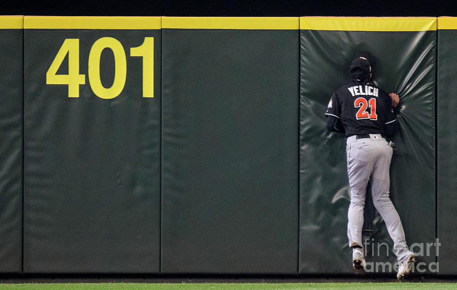 Miami Marlins V Seattle Mariners Photograph by Stephen Brashear