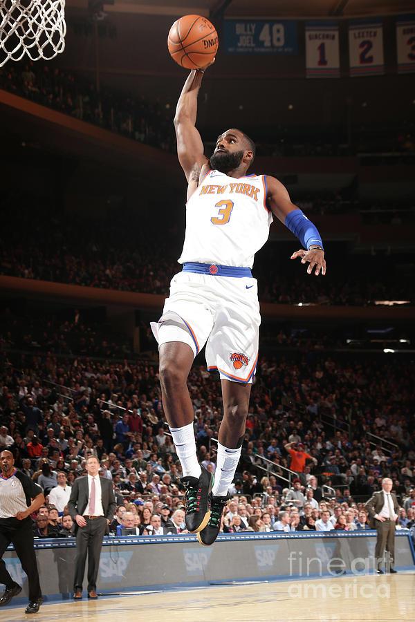Milwaukee Bucks V New York Knicks Photograph by Ned Dishman