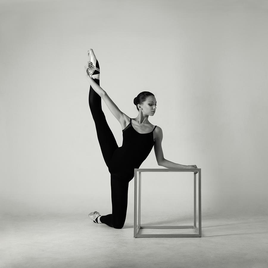 Modern Ballet Dancer Photograph by Lambada