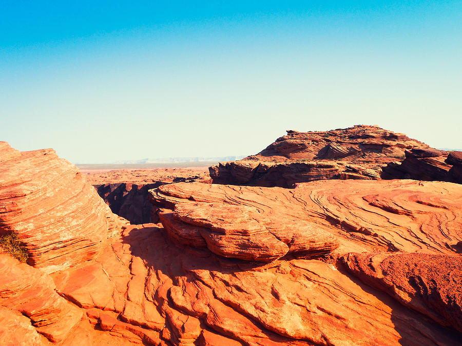Monument Valley Panorama - Tribal Photograph by Franckreporter