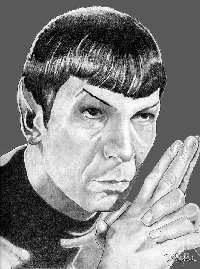 Mr. Spock by Bill Richards