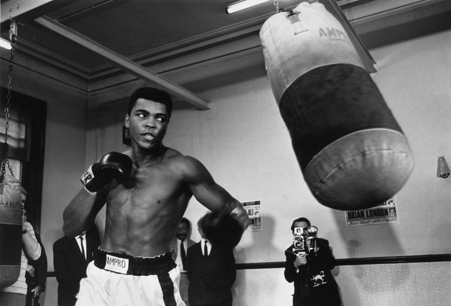 Muhammad Ali Photograph by R. Mcphedran