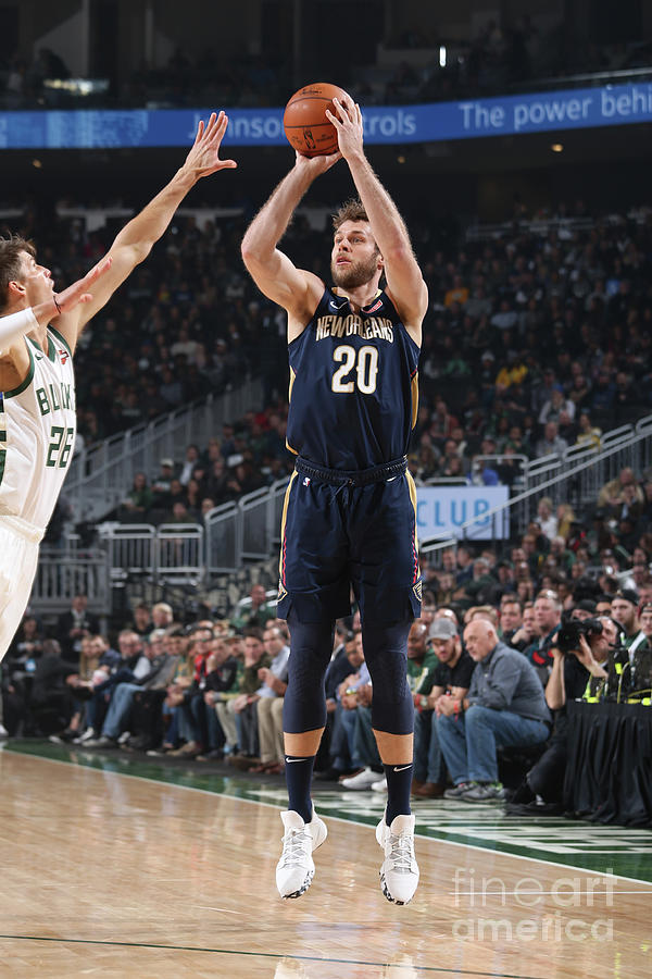 New Orleans Pelicans V Milwaukee Bucks Photograph by Gary Dineen