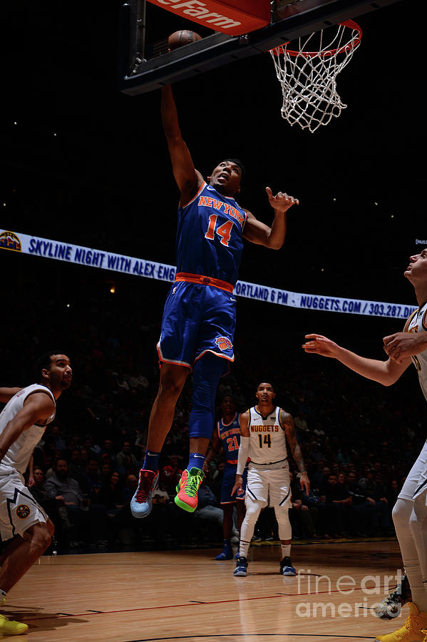 New York Knicks V Denver Nuggets Photograph by Bart Young