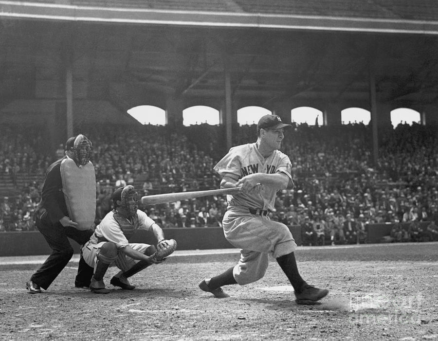 New York Yankees Photograph by National Baseball Hall Of Fame Library