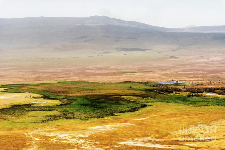 Ngorongoro crater in Tanzania by Marek Poplawski