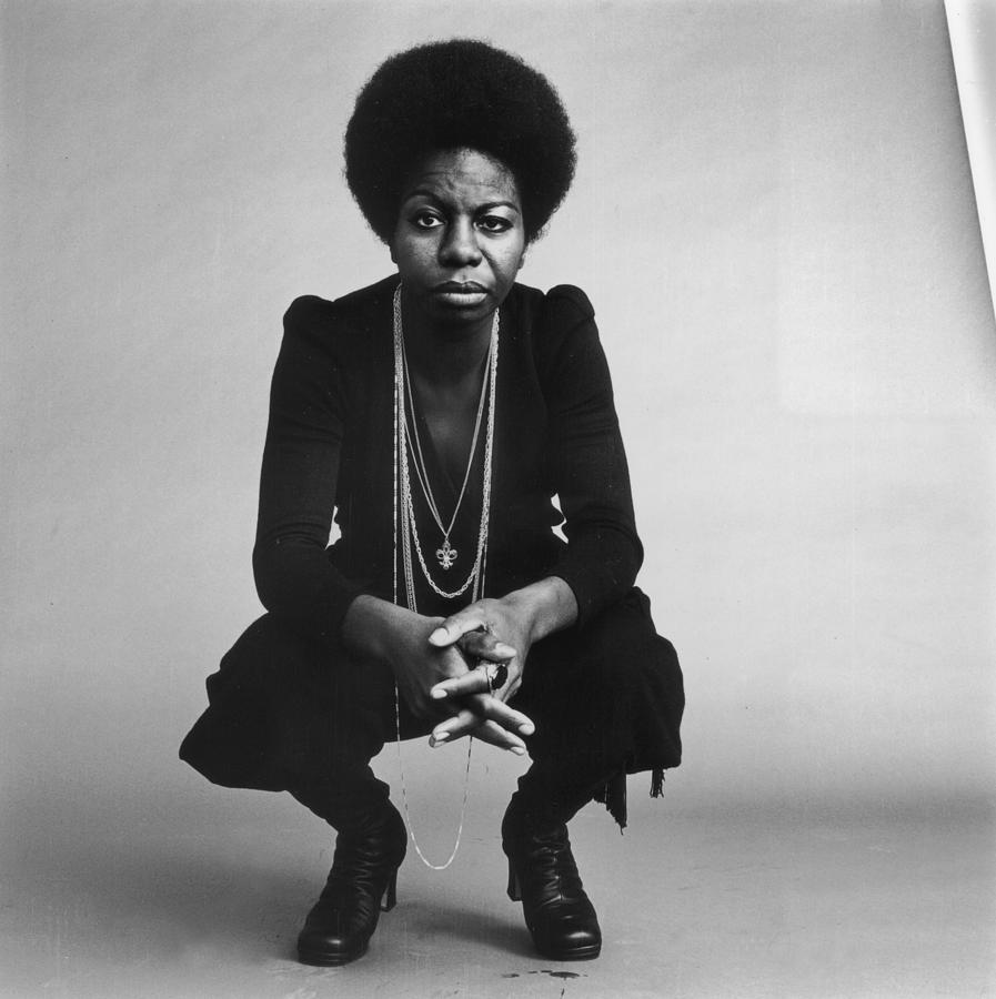 Nina Simone Photograph - Nina Simone by Jack Robinson