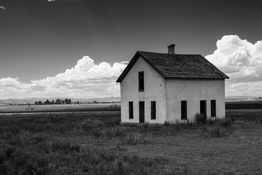 Old abandoned house in farming area by Kyle Lee