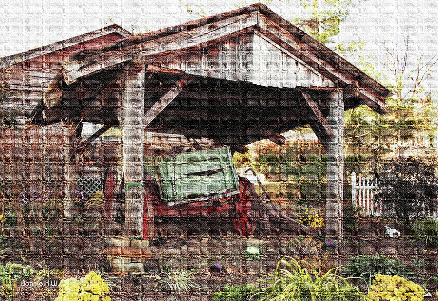 Old Wagon  Photograph by Bonnie Willis