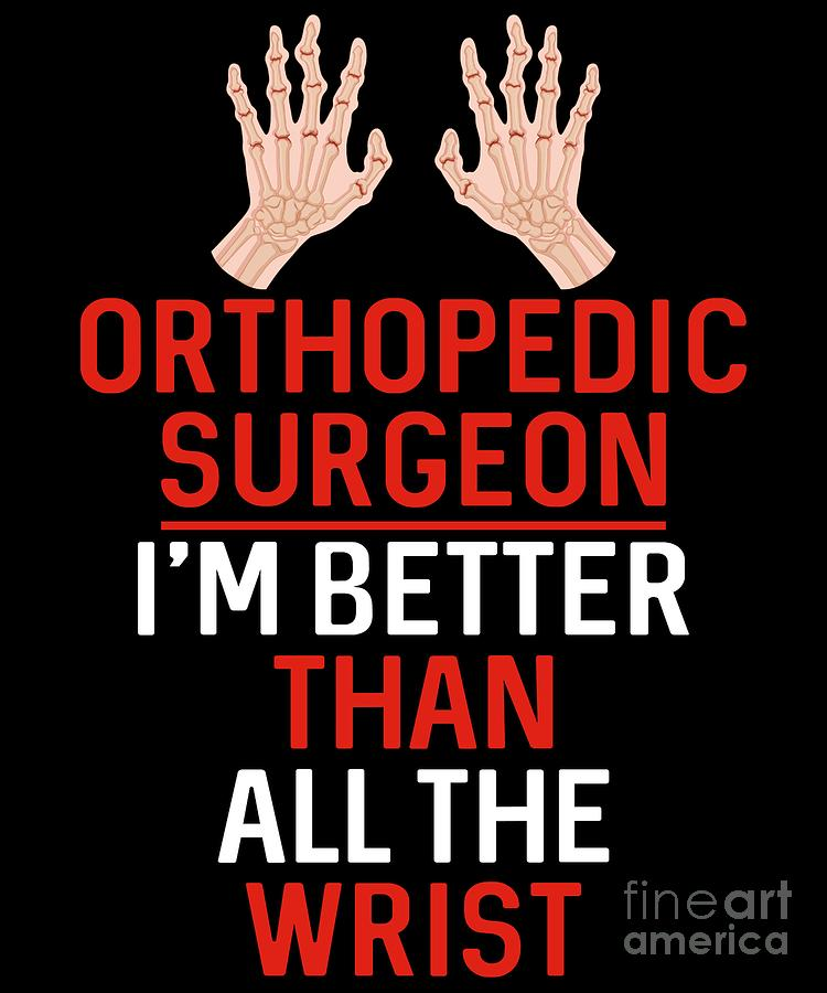 Orthopaedic Surgeon Doctor Medical Gift