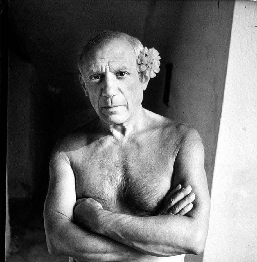 Pablo Picasso Photograph by Gjon Mili