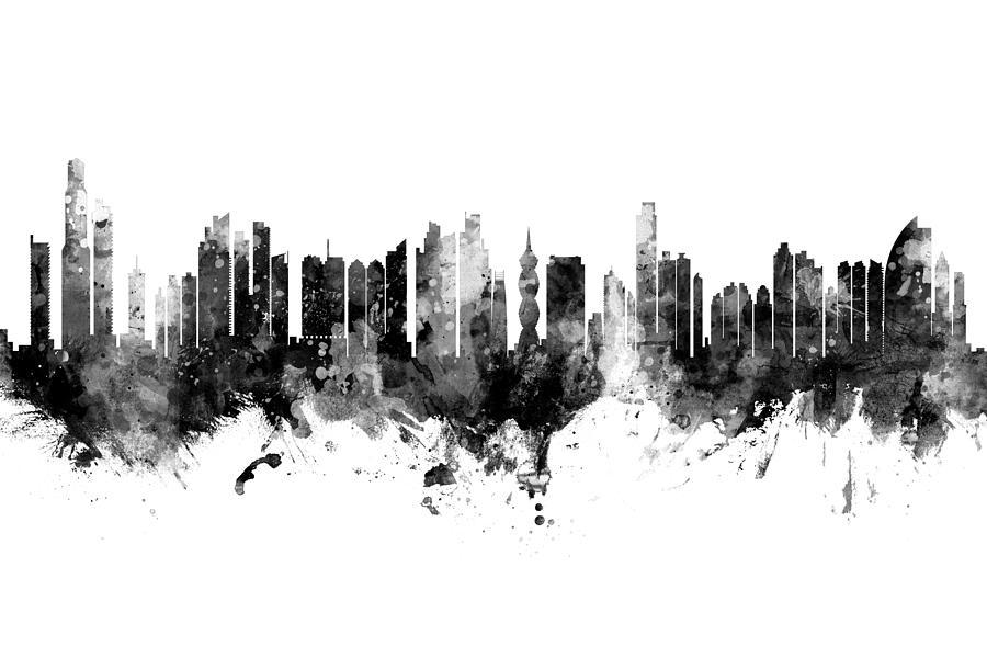 Panama City Skyline by Michael Tompsett