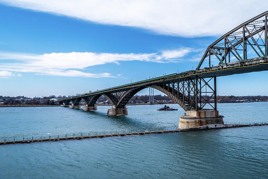 2019 Photograph - Peace Bridge by Dave Niedbala