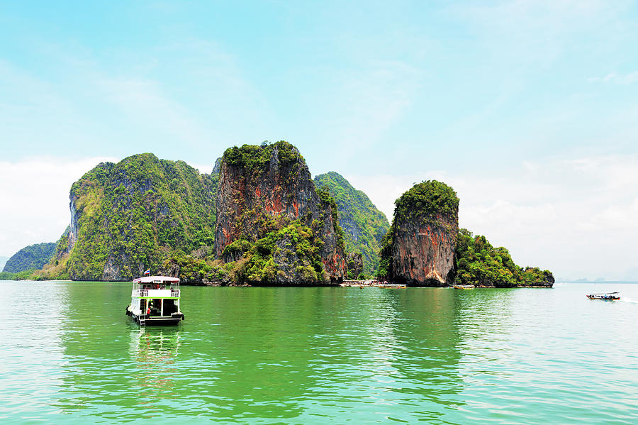 Phang Nga Archipelago Near Phuket Photograph by Ivanmateev