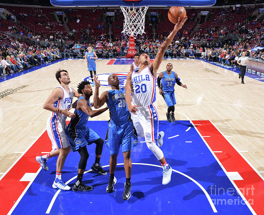 Philadelphia 76ers V Orlando Magic Photograph by Jesse D. Garrabrant
