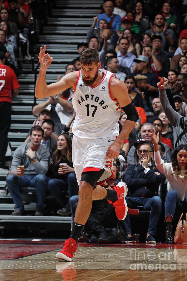 Philadelphia 76ers V Toronto Raptors Photograph by Mark Blinch