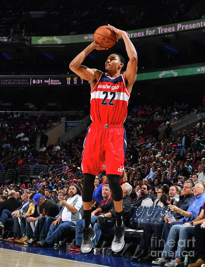 Philadelphia 76ers V Washington Wizards Photograph by Jesse D. Garrabrant