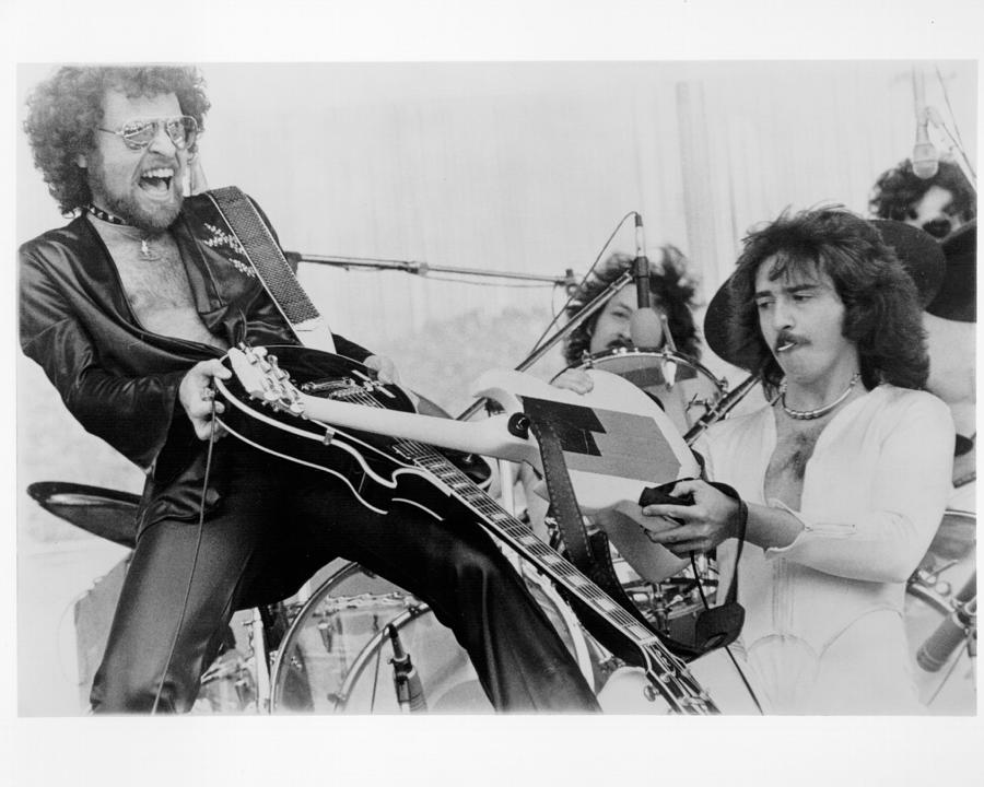 Photo Of Blue Oyster Cult Photograph by Richard Mccaffrey