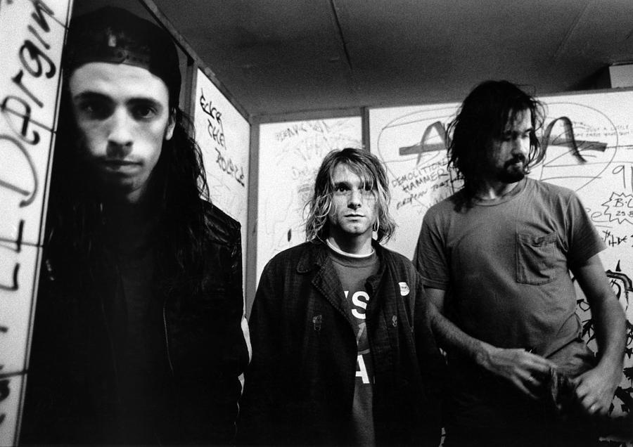 Photo Of Nirvana Photograph by Paul Bergen