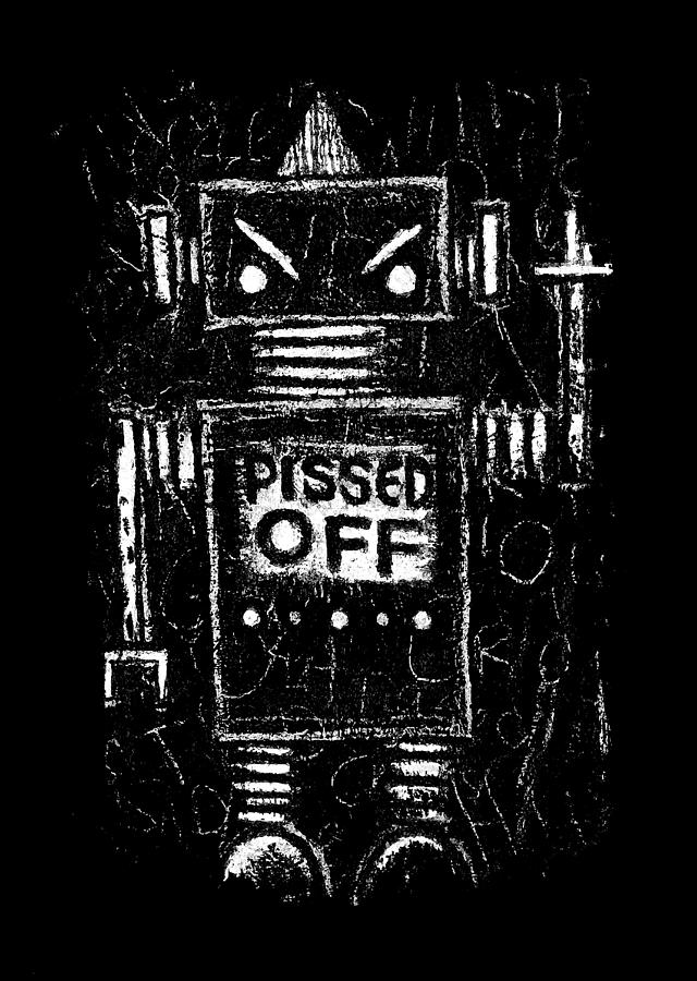 Pissed Off Bot Graphic by Roseanne Jones