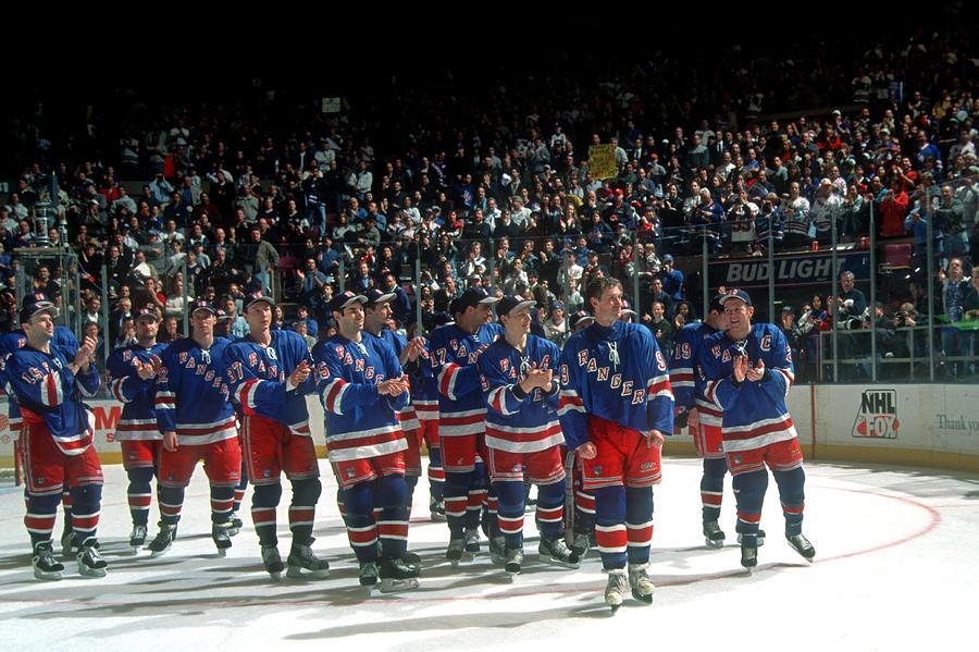 Pittsburgh Penguins V New York Rangers Photograph by B Bennett