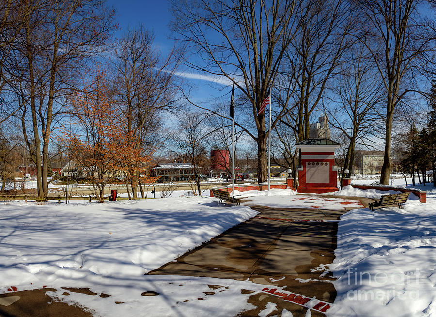 Pittsford Canal Park by William Norton