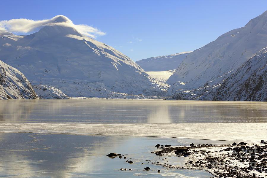 Portage Lake Photograph - Portage Lake Alaska by Louise Heusinkveld