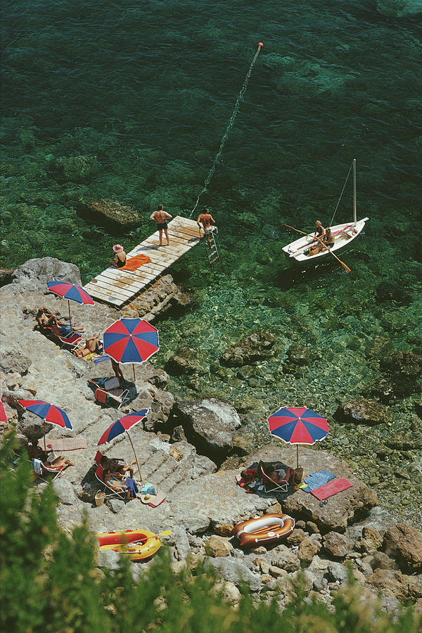 Porto Ercole Photograph by Slim Aarons