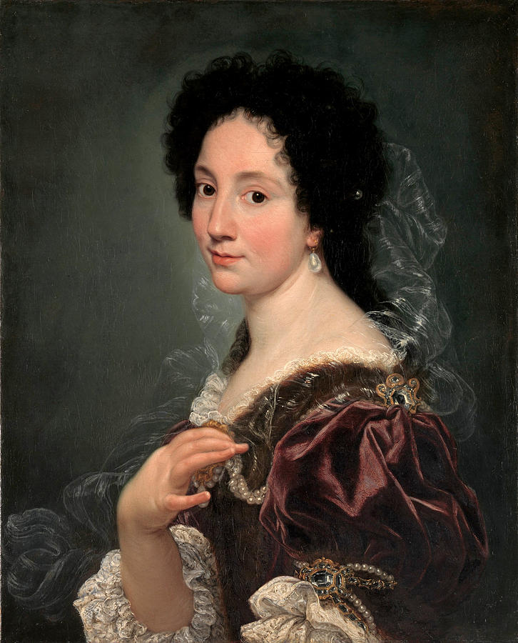 Portrait of a Woman by Giovanni Battista Gaulli