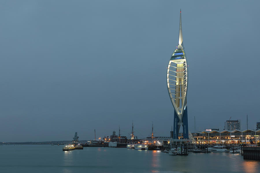 Spinnaker Tower Photograph - Portsmouth - England by Joana Kruse
