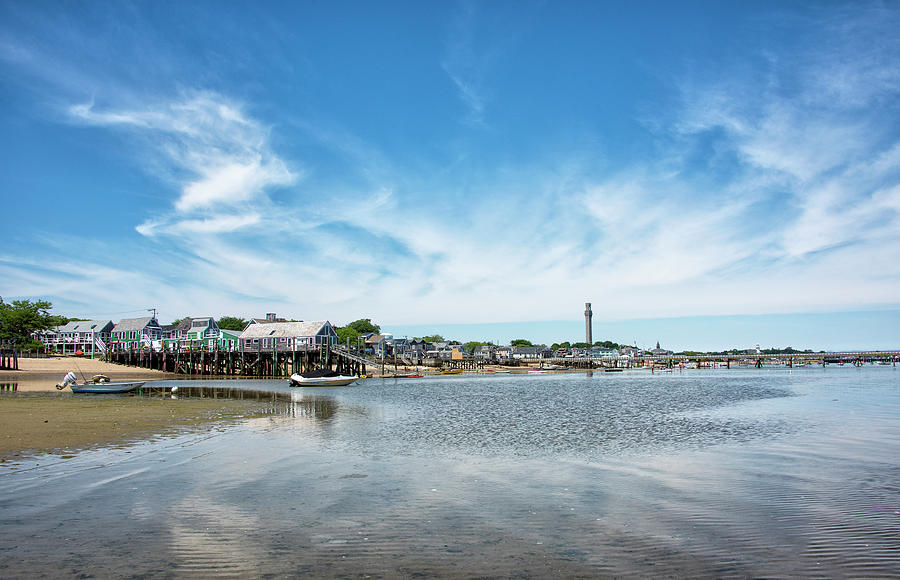 Provincetown Photograph - Provincetown Harbor - Massachusetts by Brendan Reals