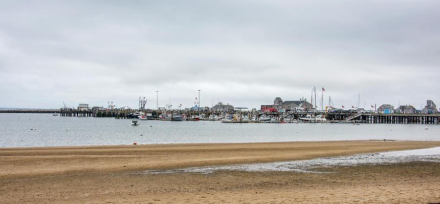 Macmillan Photograph - Provincetown - Macmillan Pier - Massachusetts  by Brendan Reals