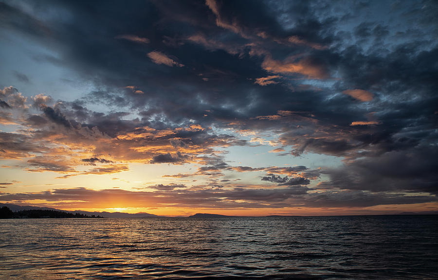 Qualicum Sunset by Randy Hall