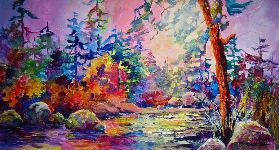 Rainbow River by Bonny Roberts