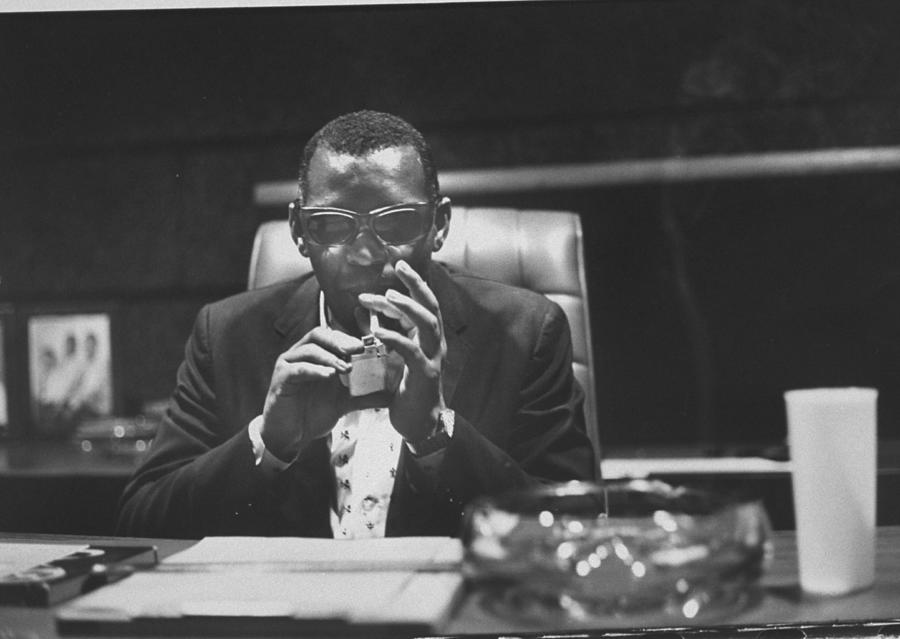 Ray Charles 2 Photograph by Bill Ray