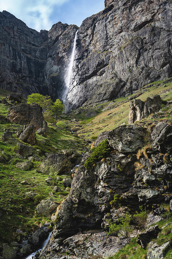 Raysko Praskalo Waterfall, Balkan Mountain by Milan Ljubisavljevic