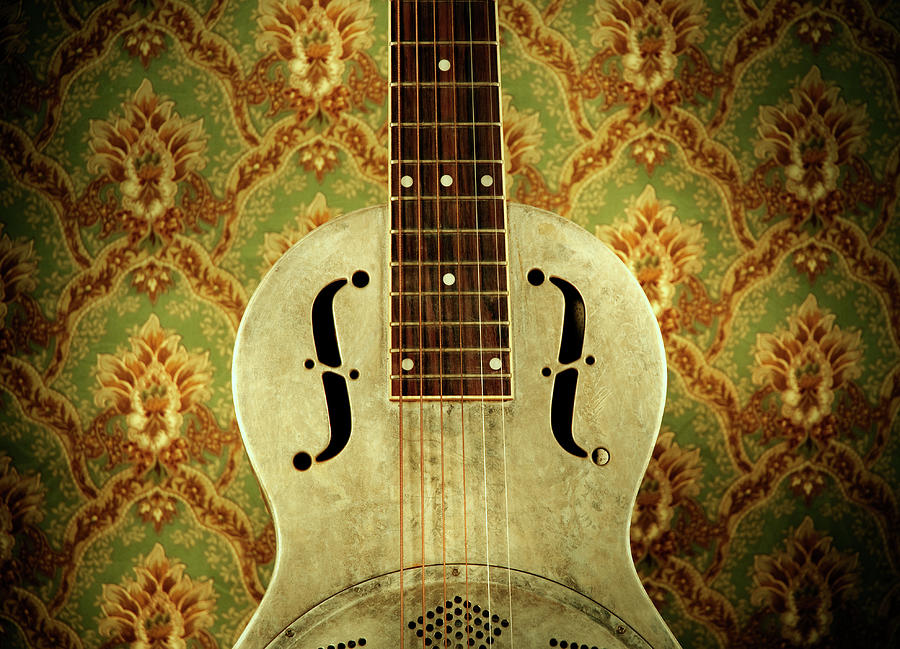 Resonator Guitar Photograph by Bns124