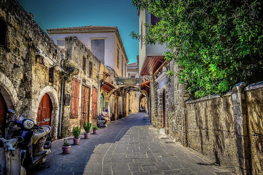 Rhodes Greece by Bill Howard
