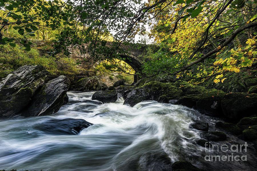 River Llugwy by Ian Mitchell