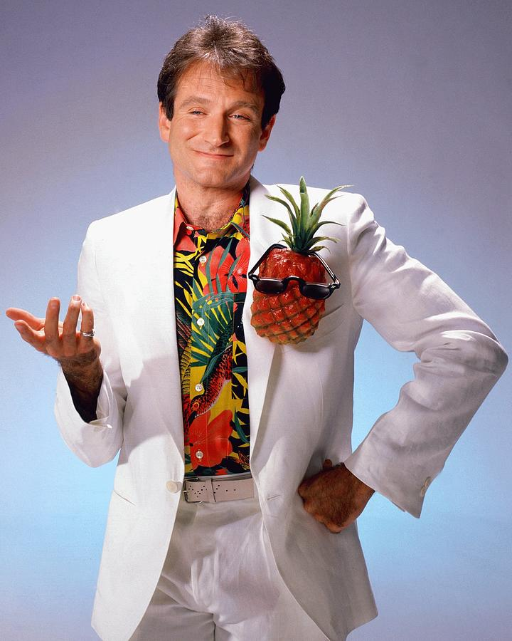 Robin Williams Portrait Session Photograph by Harry Langdon