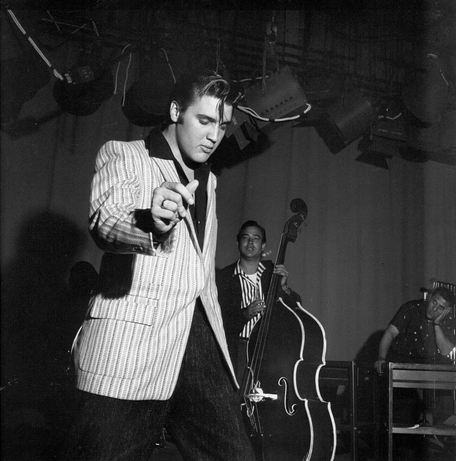 Rock And Roll Musician Elvis Presley Photograph by Michael Ochs Archives