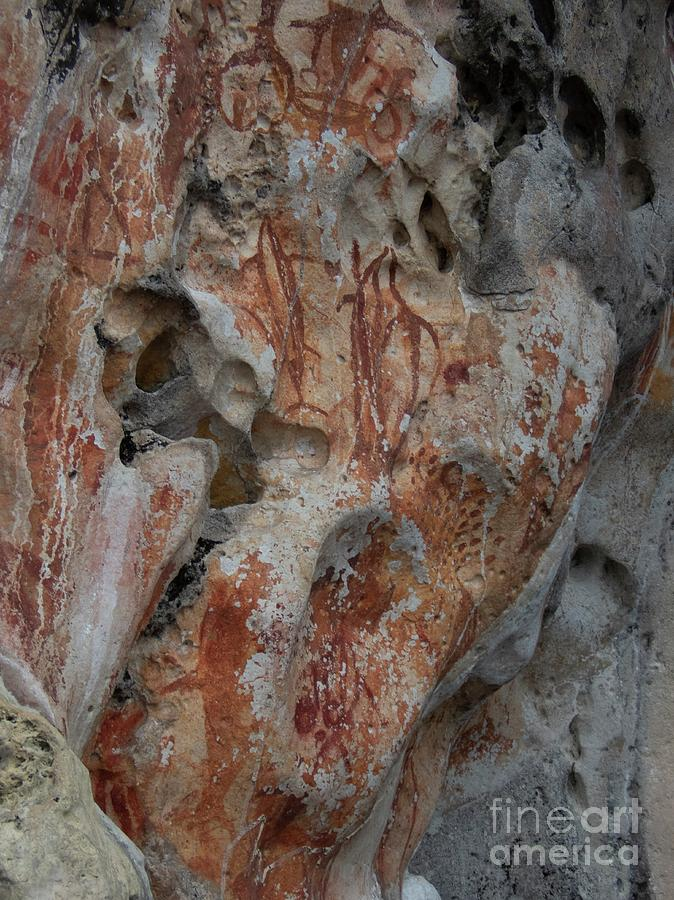 Abstract Photograph - Rock Art by Sinclair Stammers/science Photo Library