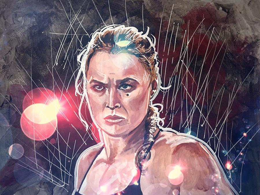 Ronda Rousey by Joel Tesch