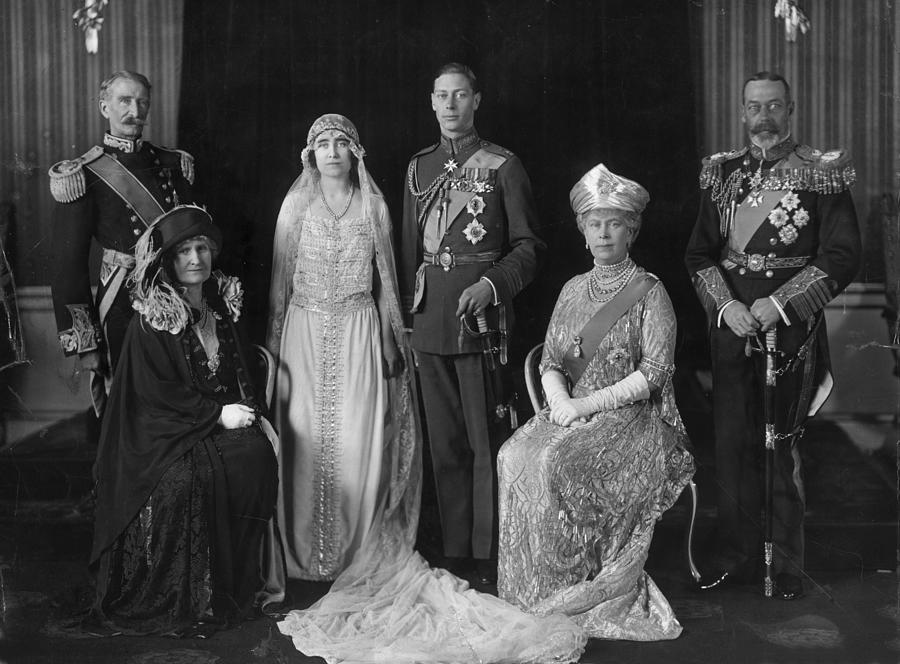 Royal Wedding Photograph by Hulton Archive