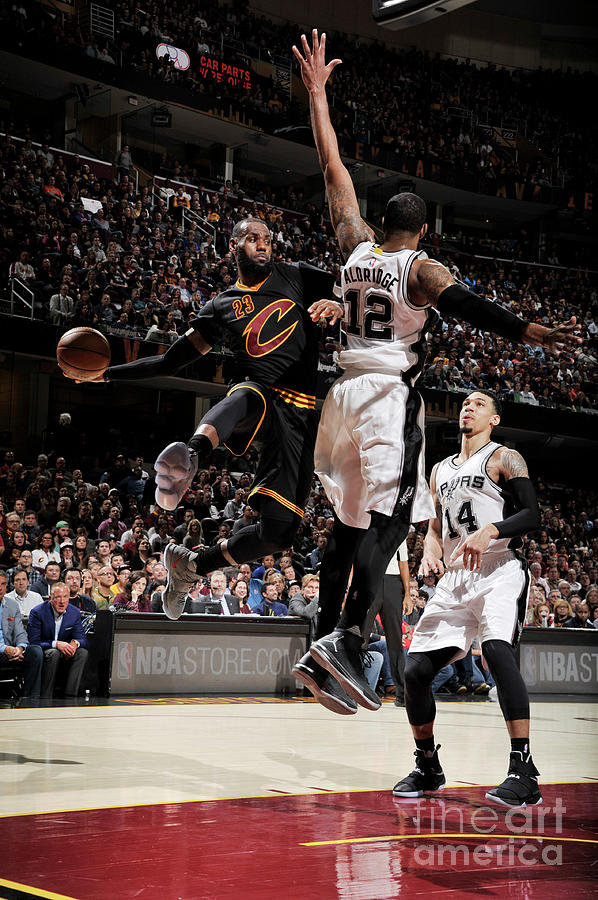San Antonio Spurs V Cleveland Cavaliers 2 Photograph by David Liam Kyle